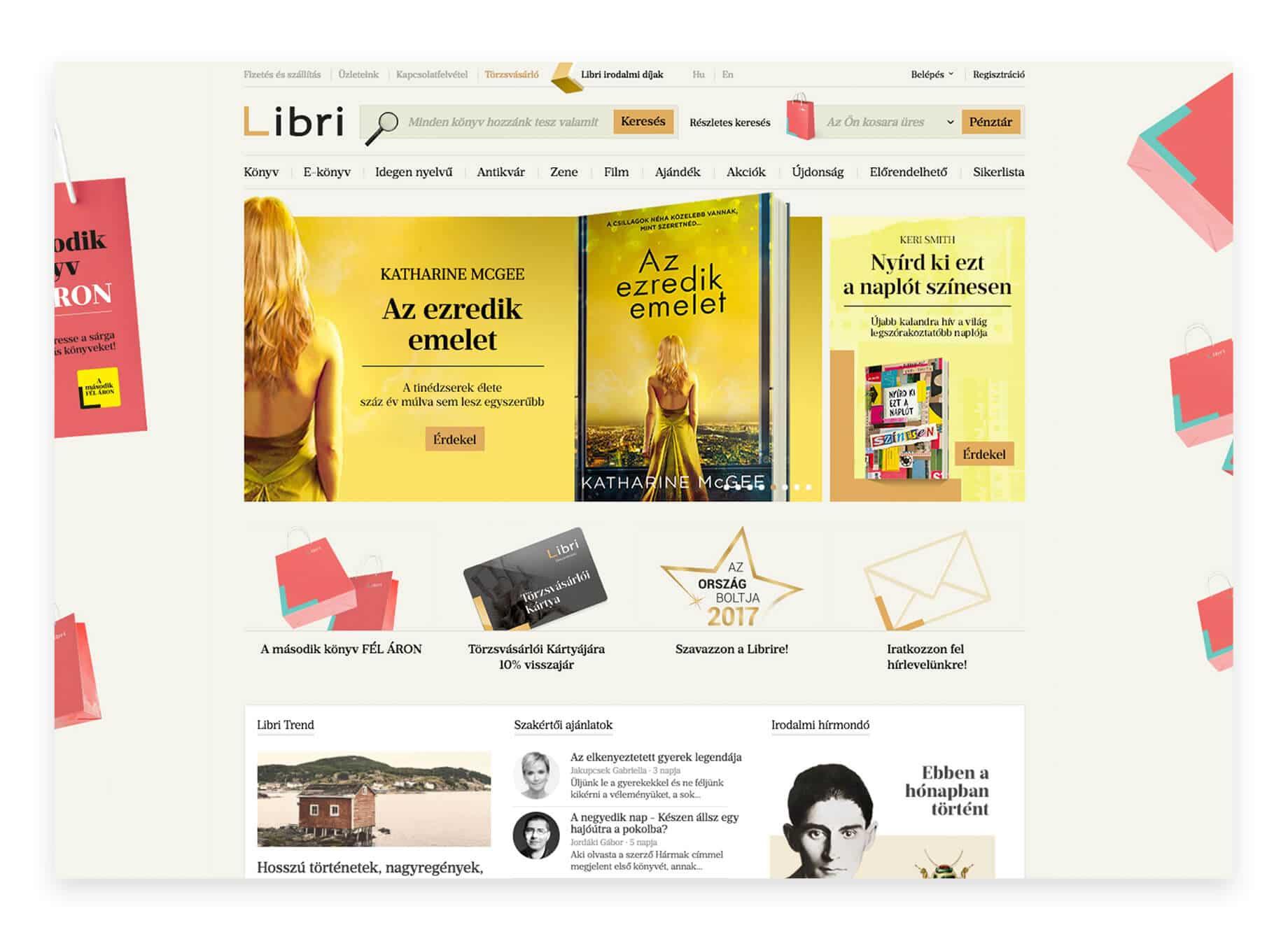 Libri webáruház
